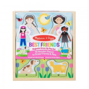 [BLACK FRIDAY] Melissa & Doug Best Friends Dress Up