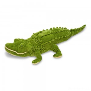 [BLACK FRIDAY] Melissa & Doug Giant Alligator - Lifelike Stuffed Animal (nearly 6 feet long)