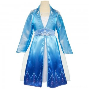 Disney Frozen 2 Elsa Travel Dress, Size: Small, MultiColored [Sale]