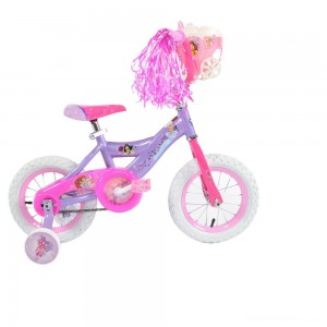 "[BLACK FRIDAY] Huffy Disney Princess Cruiser Bike 12"" - Purple, Girl's"
