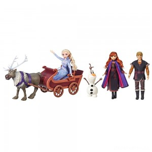 Disney Frozen 2 Sledding Adventures Doll Pack [Sale]