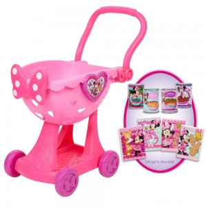 Disney Minnie's Happy Helpers Bowtique Shopping Cart [Sale]