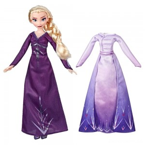[BLACK FRIDAY] Disney Frozen 2 Arendelle Fashions Elsa Fashion Doll With 2 Outfits