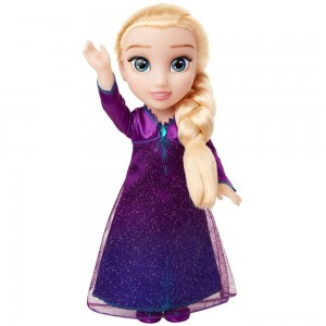 [BLACK FRIDAY] Disney Frozen 2 Into The Unknown Singing Feature Elsa Doll