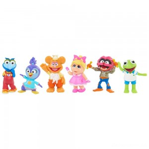 Disney Junior Muppet Babies Playroom Figure Set [Sale]