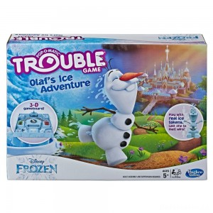 [BLACK FRIDAY] Trouble Disney Frozen Olaf's Ice Adventure Game