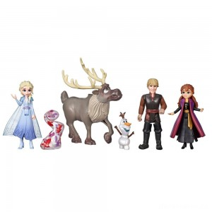 [BLACK FRIDAY] Disney Frozen 2 Adventure Collection, 5 Small Dolls from Frozen 2