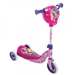 Huffy Disney Princess Secret Storage Scooter, Kids Unisex, Pink [Sale]