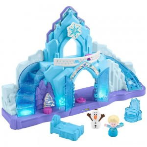 Fisher-Price Little People Disney Frozen Elsa's Ice Palace [Sale]