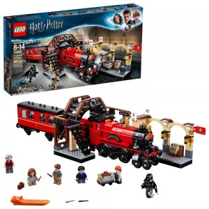 LEGO Harry Potter Hogwarts Express Train Set with Harry Potter Minifigures and Toy Bridge 75955 [Sale]