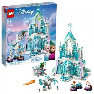 [BLACK FRIDAY] LEGO Disney Princess Elsa's Magical Ice Palace 43172 Toy Castle Building Kit with Mini Dolls