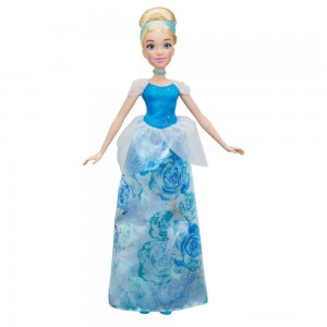 Disney Princess Royal Shimmer - Cinderella Doll [Sale]