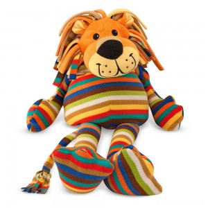 [BLACK FRIDAY] Melissa & Doug Elvis Lion - Patterned Pal Stuffed Animal