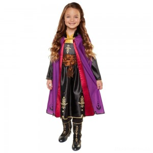 [BLACK FRIDAY] Disney Frozen 2 Anna Travel Dress, Size: Small, MultiColored