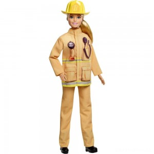 [BLACK FRIDAY] Barbie Careers 60th Anniversary Firefighter Doll