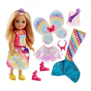 Barbie Dreamtopia Chelsea Doll and Fashions [Sale]