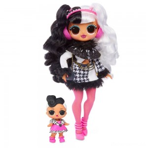 L.O.L. Surprise! O.M.G. Winter Disco Dollie Fashion Doll & Sister [Sale]
