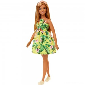 Barbie Fashionistas Doll #126 Jungle Dress [Sale]