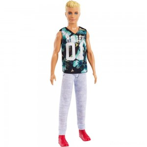 Barbie Ken Fashionistas Doll - Game Sunday [Sale]