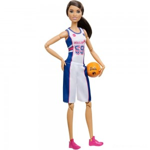[BLACK FRIDAY] Barbie Made to Move Basketball Player Doll