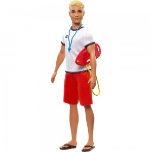 [BLACK FRIDAY] Barbie Ken Career Lifeguard Doll