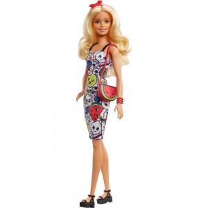 [BLACK FRIDAY] Barbie Crayola Color-in Fashions Doll & Fashions