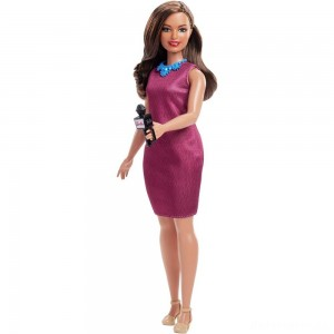 [BLACK FRIDAY] Barbie Careers 60th Anniversary News Anchor Doll