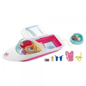 [BLACK FRIDAY] Barbie Dolphin Magic Ocean View Boat