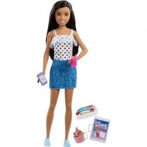 [BLACK FRIDAY] Barbie Skipper Babysitters Inc. Black Hair Doll Playset
