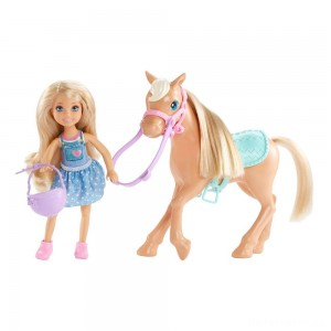 Barbie Chelsea Doll & Pony Playset [Sale]