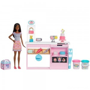 [BLACK FRIDAY] Barbie Cake Bakery Playset