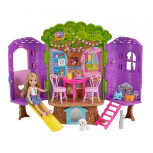 [BLACK FRIDAY] Barbie Chelsea Doll and Treehouse Playset
