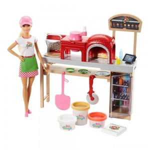 [BLACK FRIDAY] Barbie Careers Pizza Chef Doll and Playset