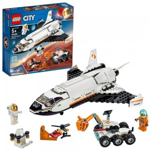 LEGO City Space Mars Research Shuttle 60226 Space Shuttle Toy Building Kit with Mars Rover [Sale]