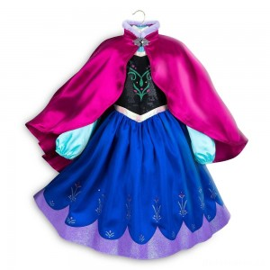 [BLACK FRIDAY] Disney Frozen 2 Anna Kids' Dress - Size 5-6 - Disney store, Girl's, Blue