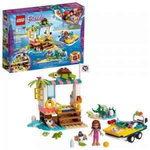 LEGO Friends Turtles Rescue Mission 41376 Building Kit Includes Toy Vehicle and Clinic 225pc [Sale]