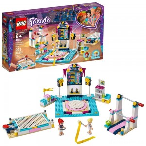 [BLACK FRIDAY] LEGO Friends Stephanie's Gymnastics Show 41372 Building Set with Gymnastics Toys 241pc