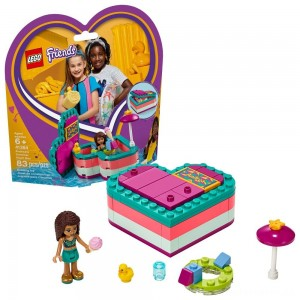 [BLACK FRIDAY] LEGO Friends Andrea's Summer Heart Box 41384 Heart Box Building Set with Andrea Mini Doll Playset 83pc