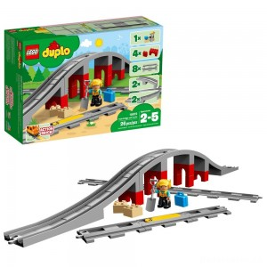 [BLACK FRIDAY] LEGO DUPLO Town Train Bridge and Tracks 10872