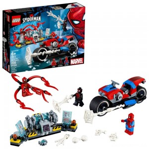 [BLACK FRIDAY] LEGO Super Heroes Marvel Spider-Man Bike Rescue 76113