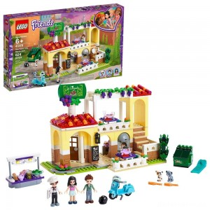 [BLACK FRIDAY] LEGO Friends Heartlake City Restaurant 41379 Building Kit with Restaurant Playset and Mini Dolls