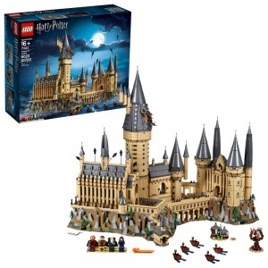 LEGO Harry Potter Hogwarts Castle Advanced Building Set Model with Harry Potter Minifigures 71043 [Sale]