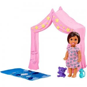 Barbie Skipper Babysitter Inc. Doll & Sleepover Playset [Sale]