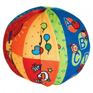 [BLACK FRIDAY] Melissa & Doug K's Kids 2-in-1 Talking Ball Educational Toy - ABCs and Counting 1-10