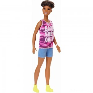 [BLACK FRIDAY] Barbie Fashionistas Doll #128 Good Vibes Only