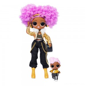 [BLACK FRIDAY] L.O.L. Surprise! O.M.G. Winter Disco 24K D.J. Fashion Doll & Sister