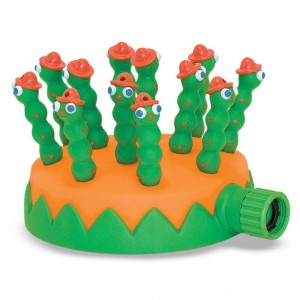 Melissa & Doug Sunny Patch Grub Scouts Sprinkler Toy With Hose Attachment, Kids Unisex