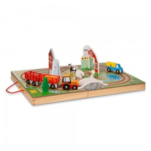Melissa & Doug Take Along Farm Set