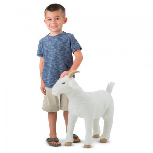 [BLACK FRIDAY] Melissa & Doug Goat Plush Toy
