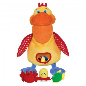 [BLACK FRIDAY] Melissa & Doug K's Kids Hungry Pelican Soft Baby Educational Toy